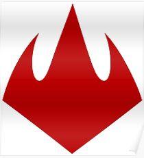 Foot Clan Logo Poster