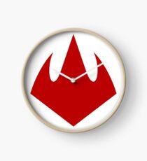 Foot Clan Logo Clock