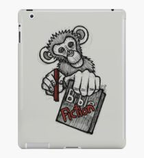 Monkey Bible Fiction iPad Case/Skin