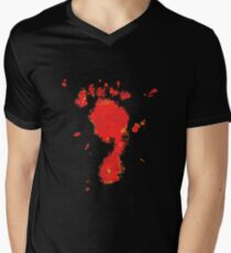 Bloody Foot Clan Men's V-Neck T-Shirt