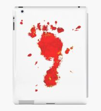 Bloody Foot Clan iPad Case/Skin