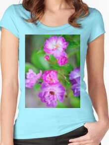 Rambling Rose Women's Fitted Scoop T-Shirt
