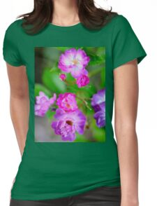 Rambling Rose Womens Fitted T-Shirt