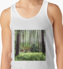 Cottage in the Woods Men's Tank Top