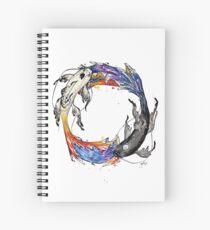 Tui and La Spiral Notebook