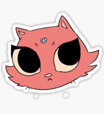 Fancy Cat Sticker