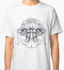 ornamental Lotus Classic T-Shirt