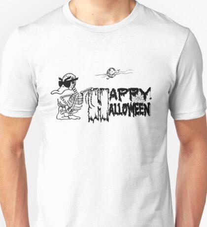Halloween Skeleton Duck - Duck Logic T-Shirt