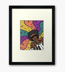 Piano Man Making Music Framed Print