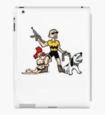 Bad Ass Charlie Brown iPad Case/Skin