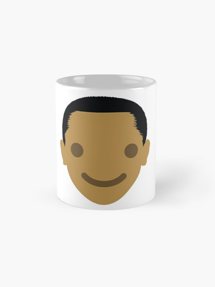 "Alternate view of Barack ""The Emoji"" Obama Happy Smiling Face Mugs"