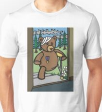 Teddy Bear And Bunny - Home From The War Unisex T-Shirt