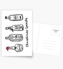 Christmas spirits  Postcards