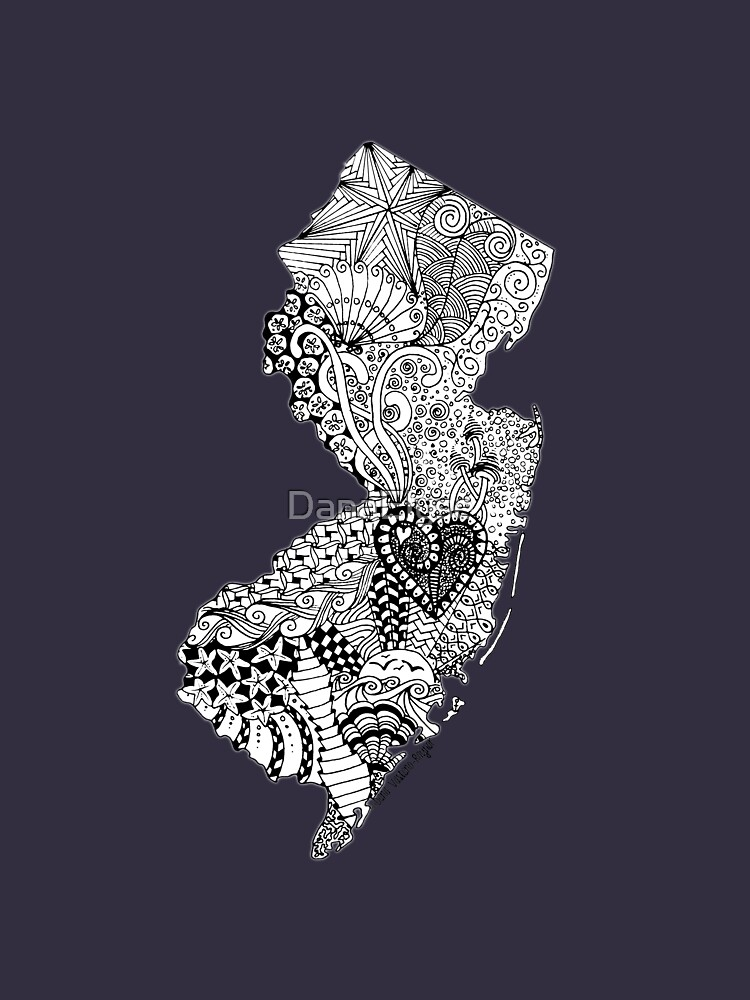 New Jersey Doodle by DanaElyse