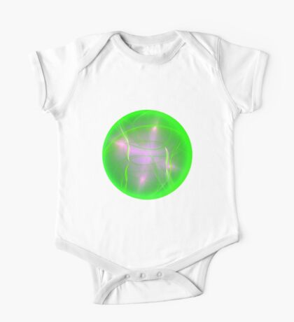 Green light planet #Fractal Art Kids Clothes