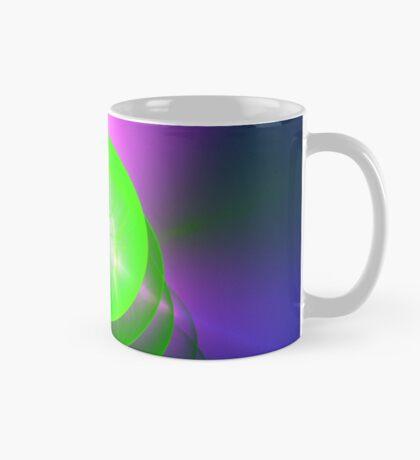 Green light planet #Fractal Art Mug