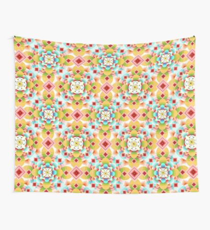 Groovy Deco Geometric (small scale) Wall Tapestry