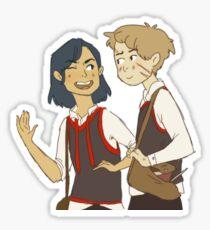 Padfoot n Moony Sticker