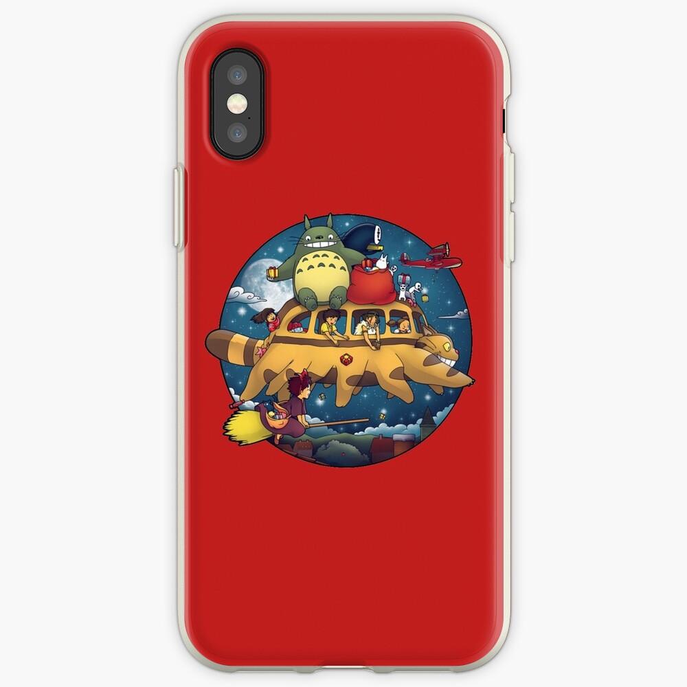 Ghibli World Funda y vinilo para iPhone