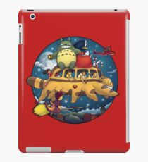 Vinilo o funda para iPad Ghibli World