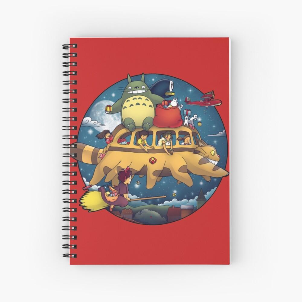 Ghibli World Cuaderno de espiral