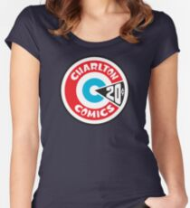 Charlton Comics Women's Fitted Scoop T-Shirt