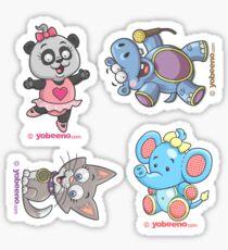 Animal Minis Sticker Sheet - 02 Sticker