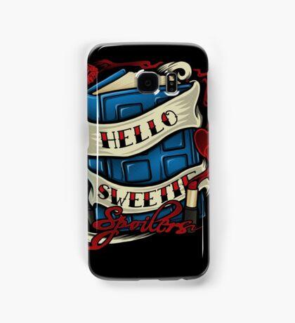 Hello Sweetie (iphone case2) Samsung Galaxy Case/Skin