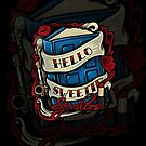 Hello Sweetie (iphone case) by Ameda