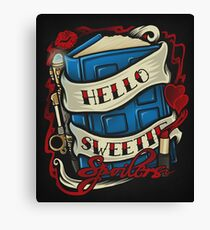 Hello Sweetie Canvas Print