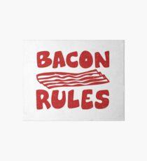 Bacon Rules Art Board