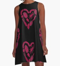 Heart of Bacteria A-Line Dress