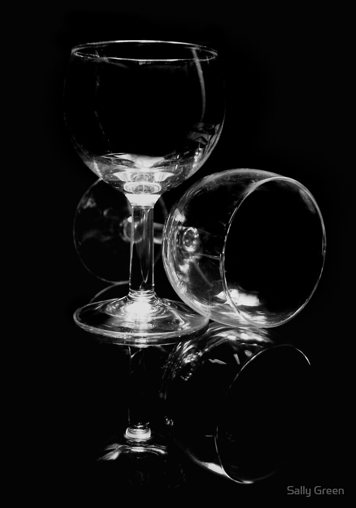 Wine Glasses by Sally Green