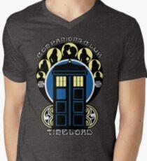 The Companions Club Mens V-Neck T-Shirt