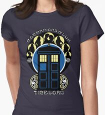 The Companions Club Womens Fitted T-Shirt