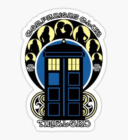 The Companions Club Sticker