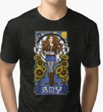 The Girl Who Waited (Amy) Tri-blend T-Shirt
