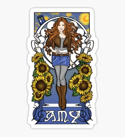 The Girl Who Waited (Amy) Sticker