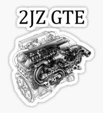 Pegatina 2JZ GTE Toyota Supra