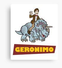 """Geronimo"" Canvas Print"