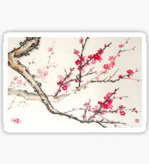 Plum Blossom Sticker