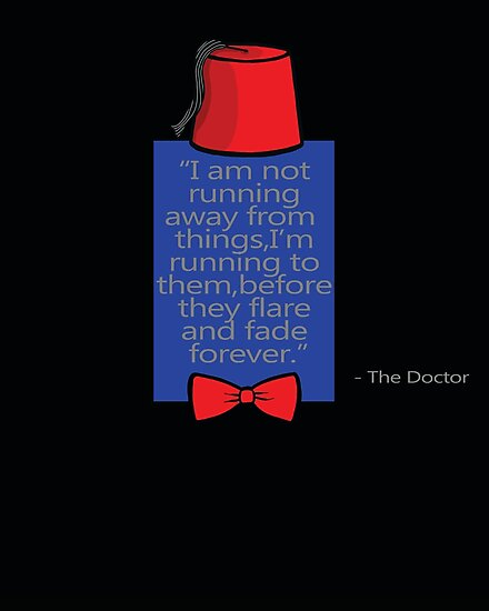 """To Quote The Doctor"" by Ameda"