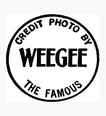 Weegee Photographic Print