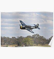 Kempsey Air Show,Australia 2016-Avenger VH-MML  Poster