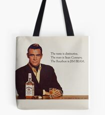 The Bourbon of Sean Connery Tote Bag