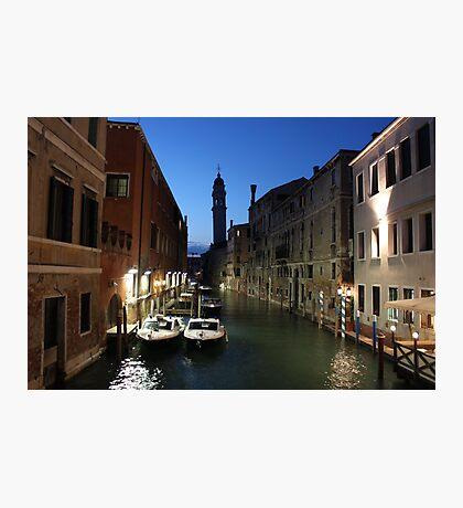 Rio dei Greci, Venice Photographic Print