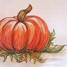 Pumpkin in the Sun by L.W. Turek