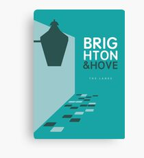 Brighton England - The Lanes Canvas Print