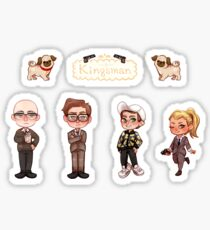Kingsman Sticker Set Sticker