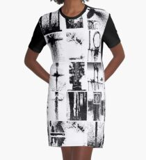 conglomerate  Graphic T-Shirt Dress